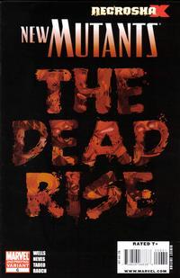 Cover Thumbnail for New Mutants (Marvel, 2009 series) #6 [2nd Print Variant]