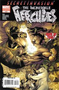 Cover Thumbnail for Incredible Hercules (Marvel, 2008 series) #117 [Second Printing]