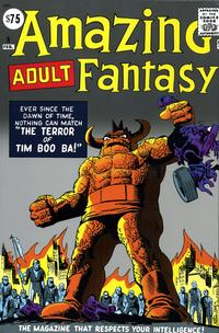 Cover Thumbnail for Amazing Fantasy Omnibus (Marvel, 2007 series)  [Steve Ditko cover]