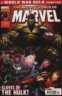 Cover Thumbnail for The Mighty World of Marvel (Panini UK, 2009 series) #4