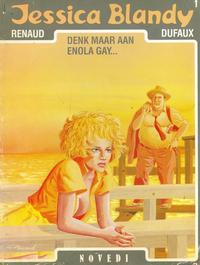 Cover Thumbnail for Jessica Blandy (Novedi, 1987 series) #1 - Denk maar aan Enola Gay...