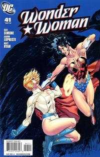Cover Thumbnail for Wonder Woman (DC, 2006 series) #41