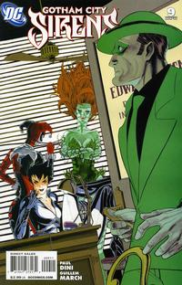 Cover Thumbnail for Gotham City Sirens (DC, 2009 series) #9