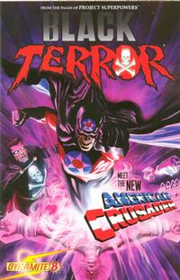 Cover Thumbnail for Black Terror (Dynamite Entertainment, 2008 series) #8 [Alex Ross Cover]