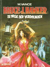 Cover Thumbnail for Bruce J. Hawker (Le Lombard, 1985 series) #2 - De orgie der verdoemden