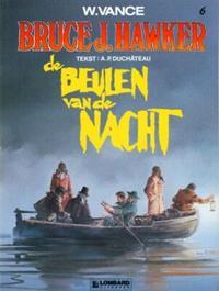 Cover Thumbnail for Bruce J. Hawker (Le Lombard, 1985 series) #6 - De beulen van de nacht