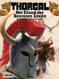 Cover Thumbnail for Thorgal (Le Lombard, 1980 series) #2 - Het Eiland der Bevroren Zeeën