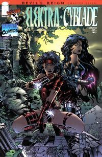 Cover Thumbnail for Elektra / Cyblade (Image, 1997 series) #1
