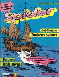 Cover Thumbnail for Spider (Hjemmet / Egmont, 1987 series) #4/1988