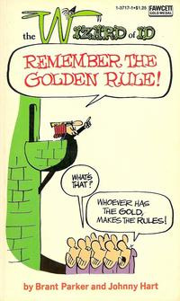Cover Thumbnail for Remember the Golden Rule [The Wizard of Id] (Gold Medal Books, 1971 series) #1-3717-1