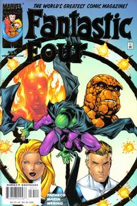 Cover Thumbnail for Fantastic Four (Marvel, 1998 series) #35 [Deluxe Direct Editon]