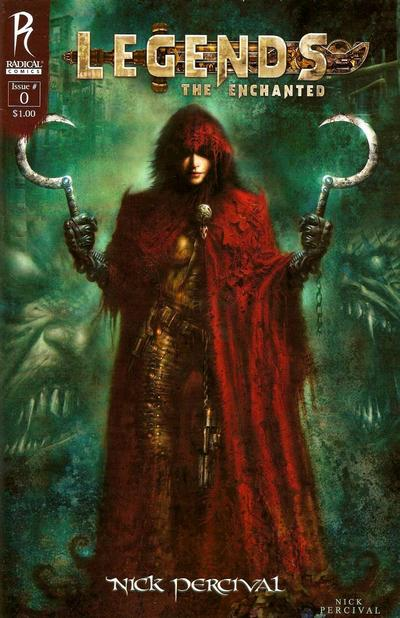 Cover for Legends: The Enchanted (Radical Comics, 2010 series) #0