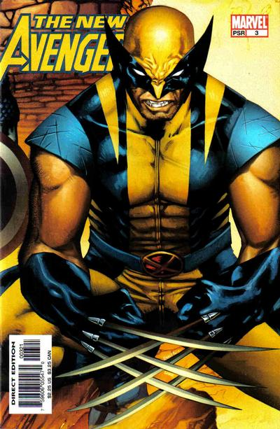 Cover for New Avengers (Marvel, 2005 series) #3 [Newsstand]