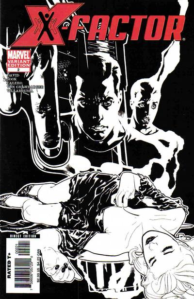 Cover for X-Factor (Marvel, 2006 series) #2 [Second Printing Variant]