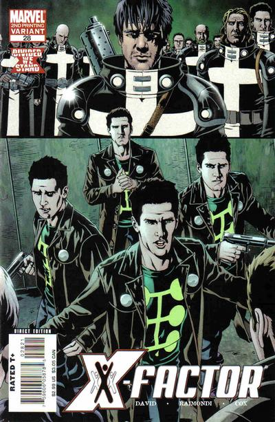 Cover for X-Factor (Marvel, 2006 series) #28 [Second Printing]