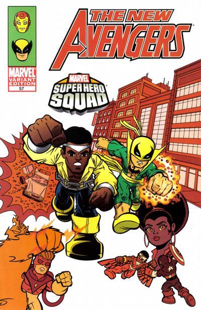 Cover for New Avengers (Marvel, 2005 series) #57