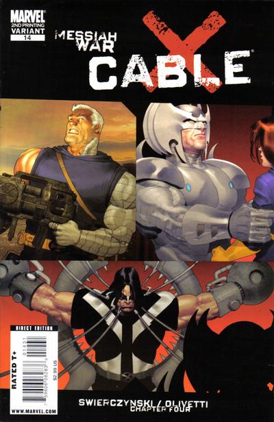 Cover for Cable (Marvel, 2008 series) #14 [Andrews Cover]