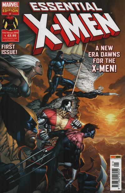 Cover for Essential X-Men (Panini UK, 2010 series) #1