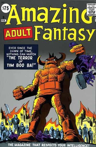 Cover for Amazing Fantasy Omnibus (Marvel, 2007 series)  [Steve Ditko cover]