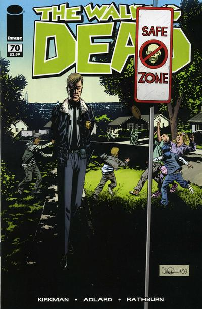 Cover for The Walking Dead (Image, 2003 series) #70