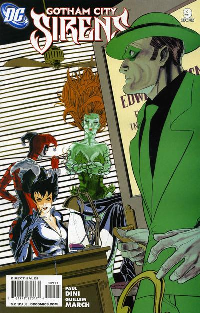 Cover for Gotham City Sirens (DC, 2009 series) #9