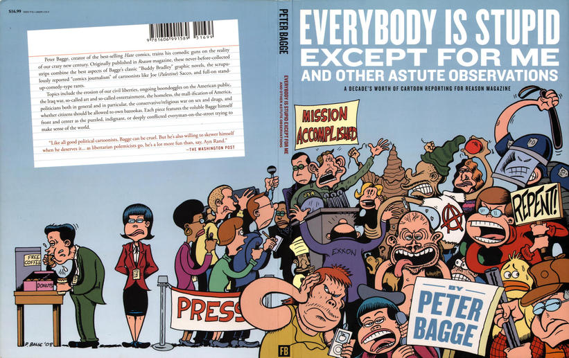 Cover for Everybody Is Stupid Except for Me and Other Astute Observations (Fantagraphics, 2009 series) #[nn]