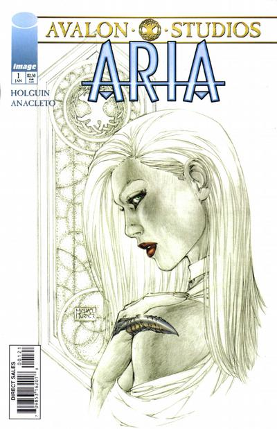 Cover for Aria (Image, 1999 series) #1 [Jay Anacleto Cover]