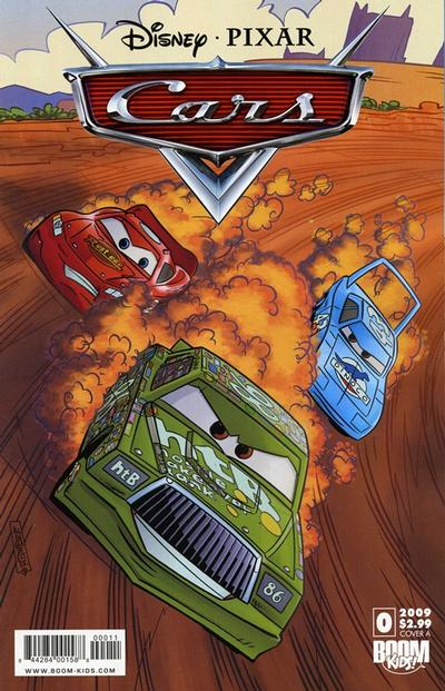Cover for Cars (Boom! Studios, 2009 series) #0 [Cover B]