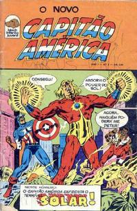 Cover for Capitão América (Editora Bloch, 1975 series) #2