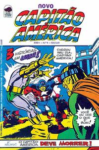 Cover Thumbnail for Capitão América (Editora Bloch, 1975 series) #9