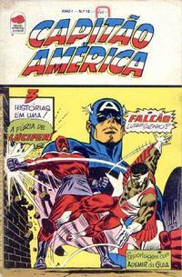Cover Thumbnail for Capitão América (Editora Bloch, 1975 series) #10