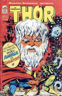 Cover Thumbnail for O Poderoso Thor (Editora Bloch, 1975 series) #15