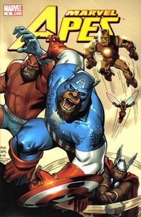 Cover Thumbnail for Marvel Apes (Marvel, 2008 series) #0