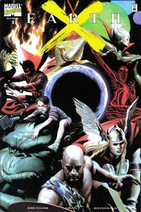 Cover Thumbnail for Earth X (Marvel, 1999 series) #1 [Dynamic Forces Variant]