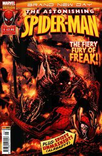 Cover for Astonishing Spider-Man (Panini UK, 2009 series) #5