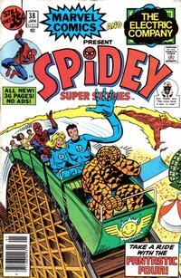 Cover Thumbnail for Spidey Super Stories (Marvel, 1974 series) #38 [Regular Edition]