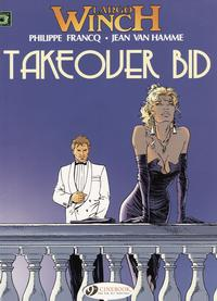 Cover Thumbnail for Largo Winch (Cinebook, 2008 series) #2 - Takeover Bid