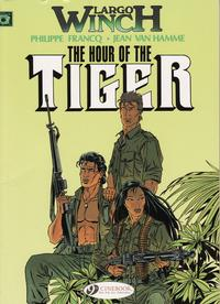 Cover Thumbnail for Largo Winch (Cinebook, 2008 series) #4 - The Hour of the Tiger