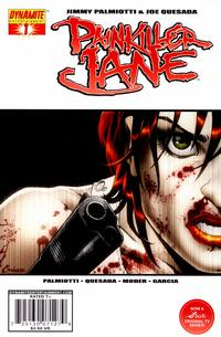 Cover Thumbnail for Painkiller Jane (Dynamite Entertainment, 2007 series) #1 [Amanda Conner Cover]