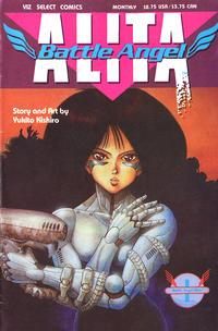 Cover Thumbnail for Battle Angel Alita (Viz, 1992 series) #1