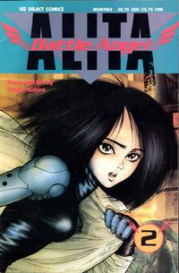 Cover Thumbnail for Battle Angel Alita (Viz, 1992 series) #2