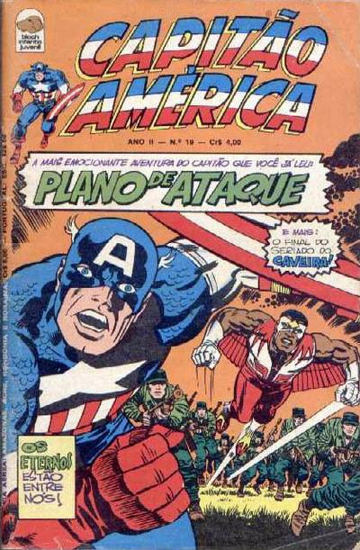 Cover for Capitão América (Editora Bloch, 1975 series) #19