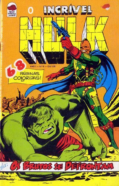 Cover for O Incrível Hulk (Editora Bloch, 1975 series) #6