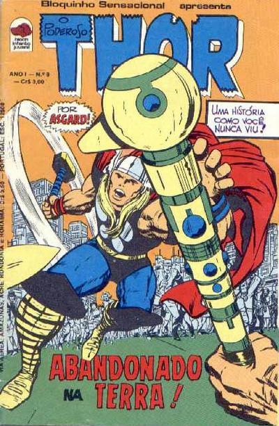 Cover for O Poderoso Thor (Editora Bloch, 1975 series) #9