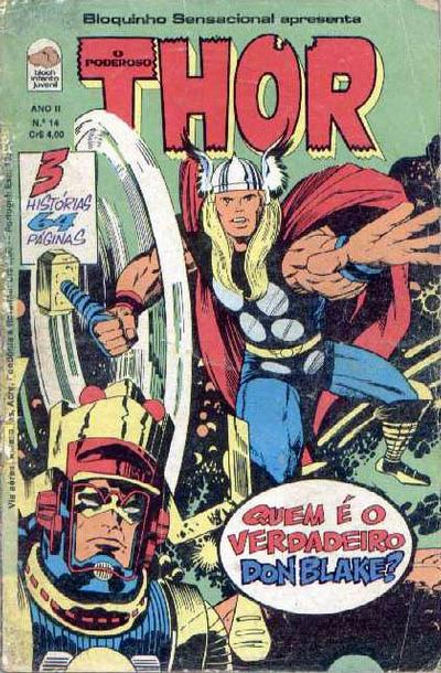 Cover for O Poderoso Thor (Editora Bloch, 1975 series) #14