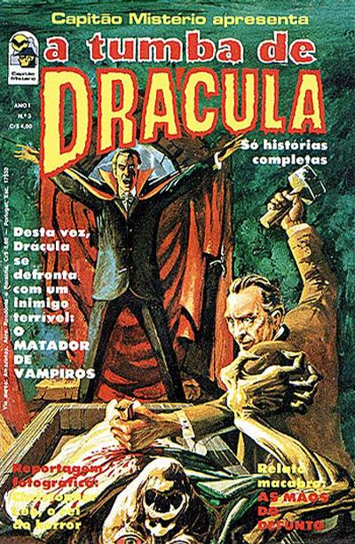 Cover for A Tumba de Drácula (Editora Bloch, 1976 series) #3