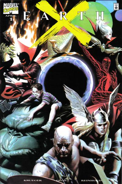 Cover for Earth X (Marvel, 1999 series) #1
