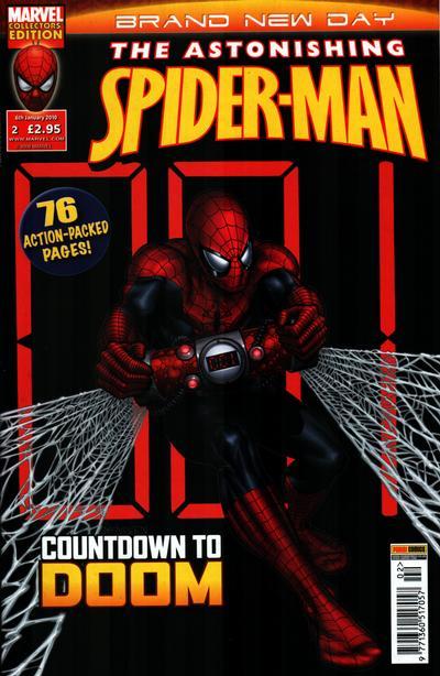 Cover for Astonishing Spider-Man (Panini UK, 2009 series) #2
