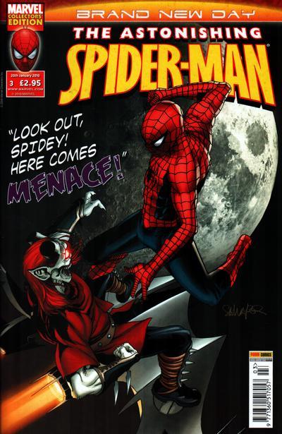 Cover for Astonishing Spider-Man (Panini UK, 2009 series) #3