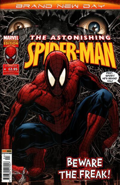 Cover for Astonishing Spider-Man (Panini UK, 2009 series) #4